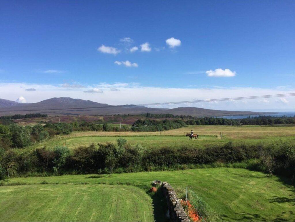 Scotland has vast open spaces