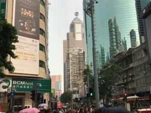 One of many similarities between Hong Kong and Macau: skyscrapers!