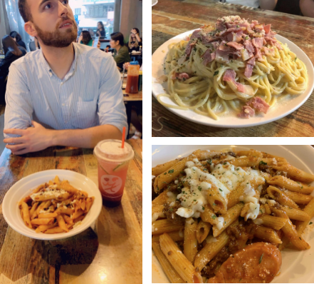 M.Y. Majesty is known for its huge portions of pasta