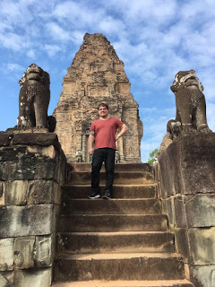 Joel explores Angkor Wat in Cambodia