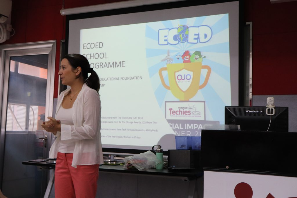 Chatteris collaborated with Ecoed for last year's summer camps