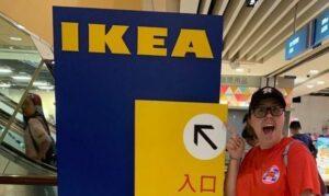Hannah is an IKEA fan!