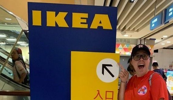 Hannah is an IKEA fan!