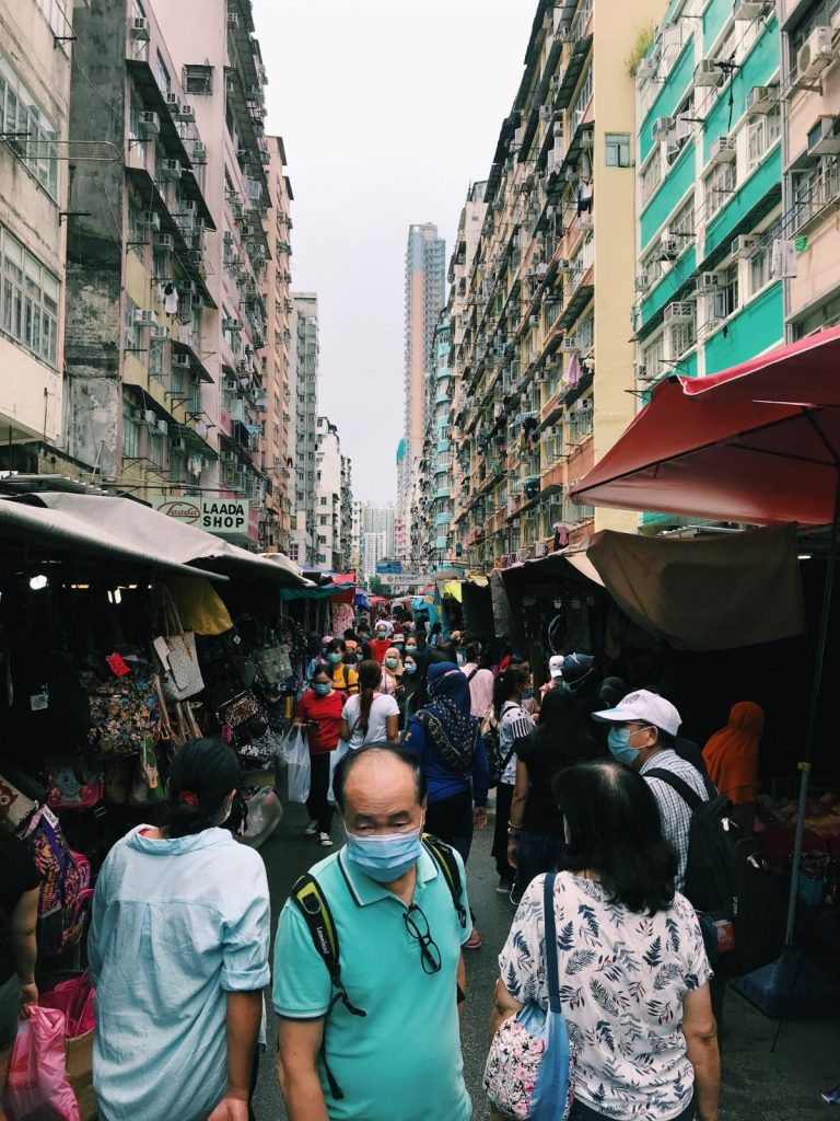 One of Hong Kong's plethora of buzzing markets   Image by Jack Salmon