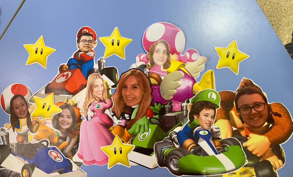 Super Tutors! A creative English board display featuring the Chatteris team. | Image by Emily Lagan