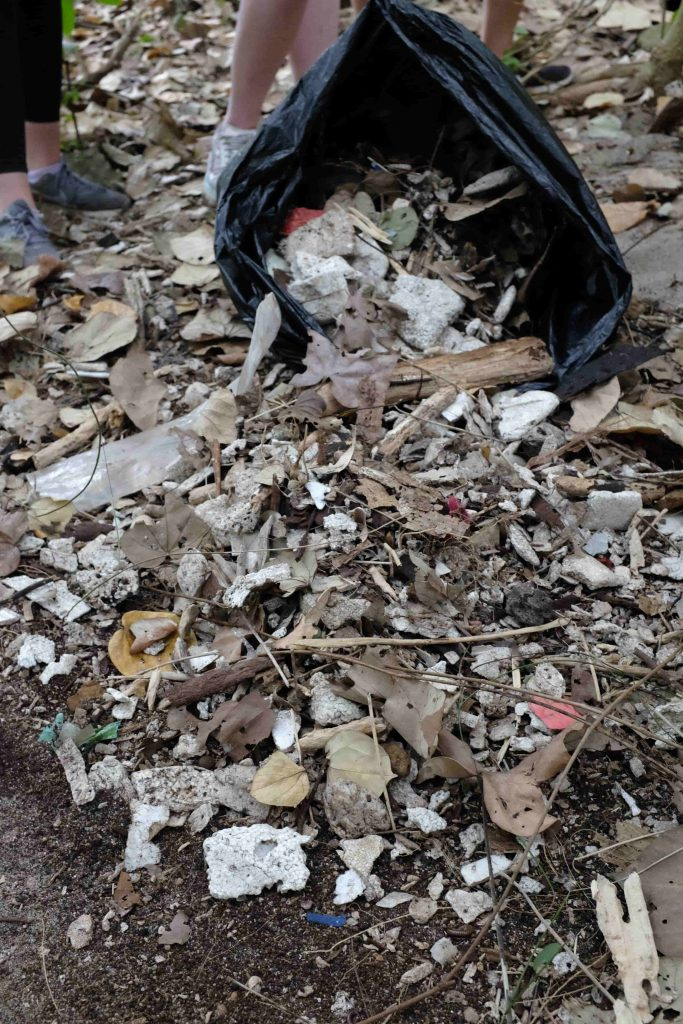 Plastic waste is prevalent in many of Hong Kong's natural areas   Image by Jake Morton